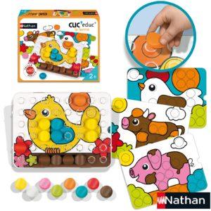 idée cadeau enfants jeu de couleurs