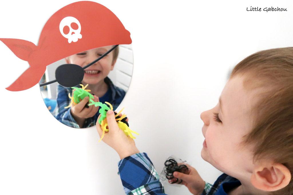 décoration chambre-pirate petit garçon