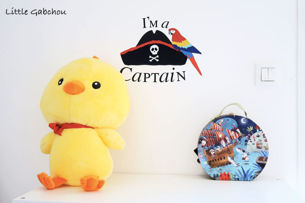 stickers pirates Decoloopio pour chambre petit garçons