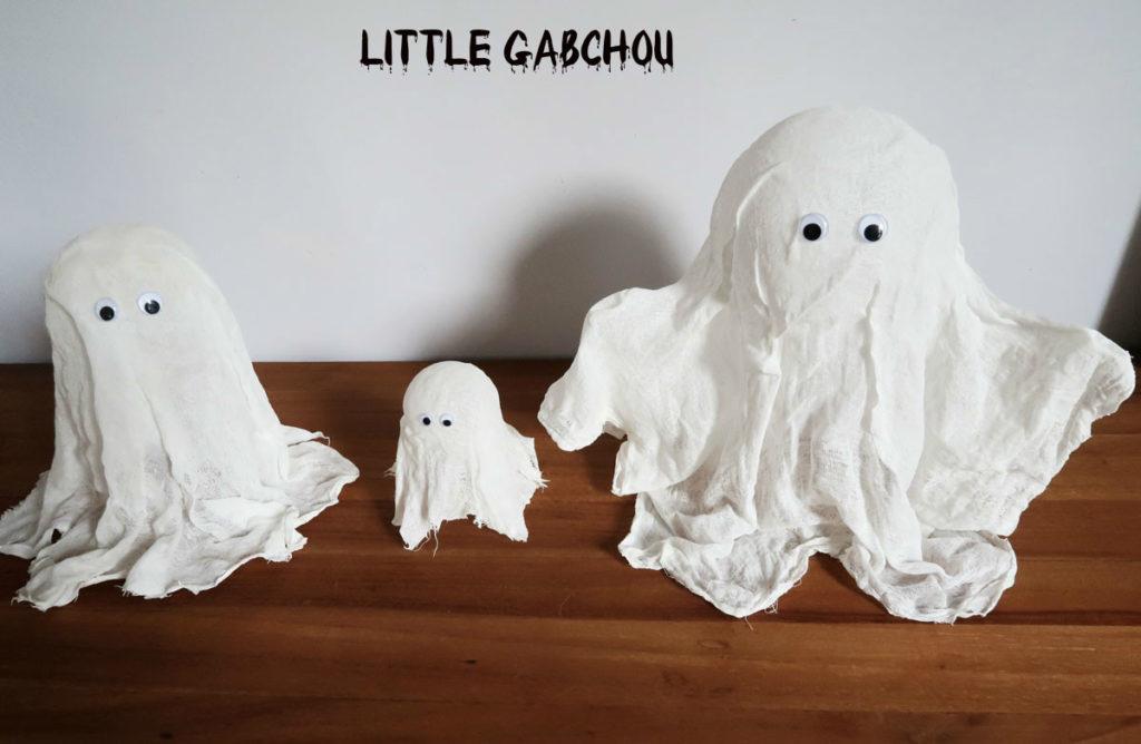 DIY fantômes à faire à la maison avec les enfants pour Halloween