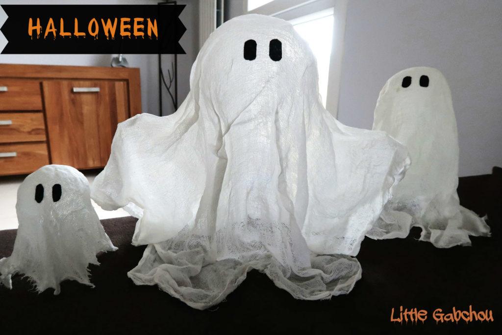DIY des fantomes-halloween qui flottent
