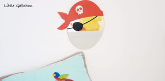 décoration pour chambre de pirate Decoloopio made in france
