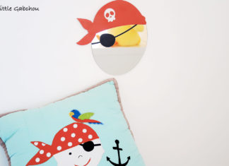 décoration pour chambre de pirate Decoloopio made in france