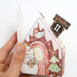 gingerbread houses advent calendar with free printables