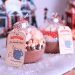 diy-idee-cadeau-de-noel fait maison boules de chocolat chaud