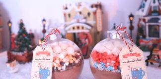 diy cadeau noel fait maison boules chocolat chaud