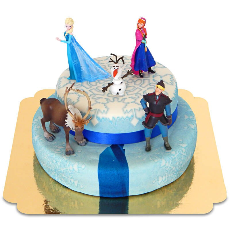 gateau cake design reine des neiges
