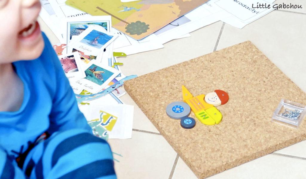 jeu Montessori le jeu de clous Haba