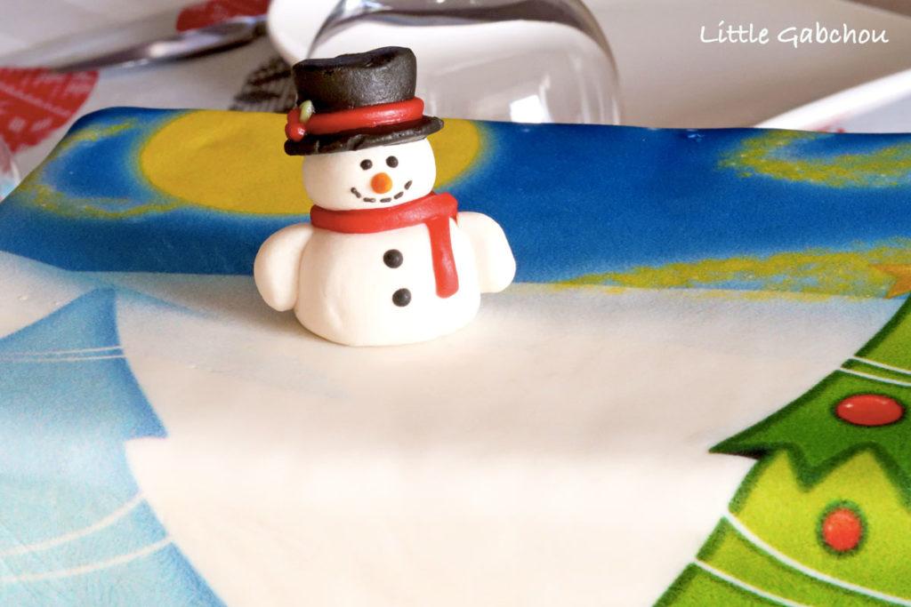 gâteau cake design sur le thème de l'hiver votregâteau.fr