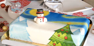 Test gâteau d'anniversaire pour enfant cake design
