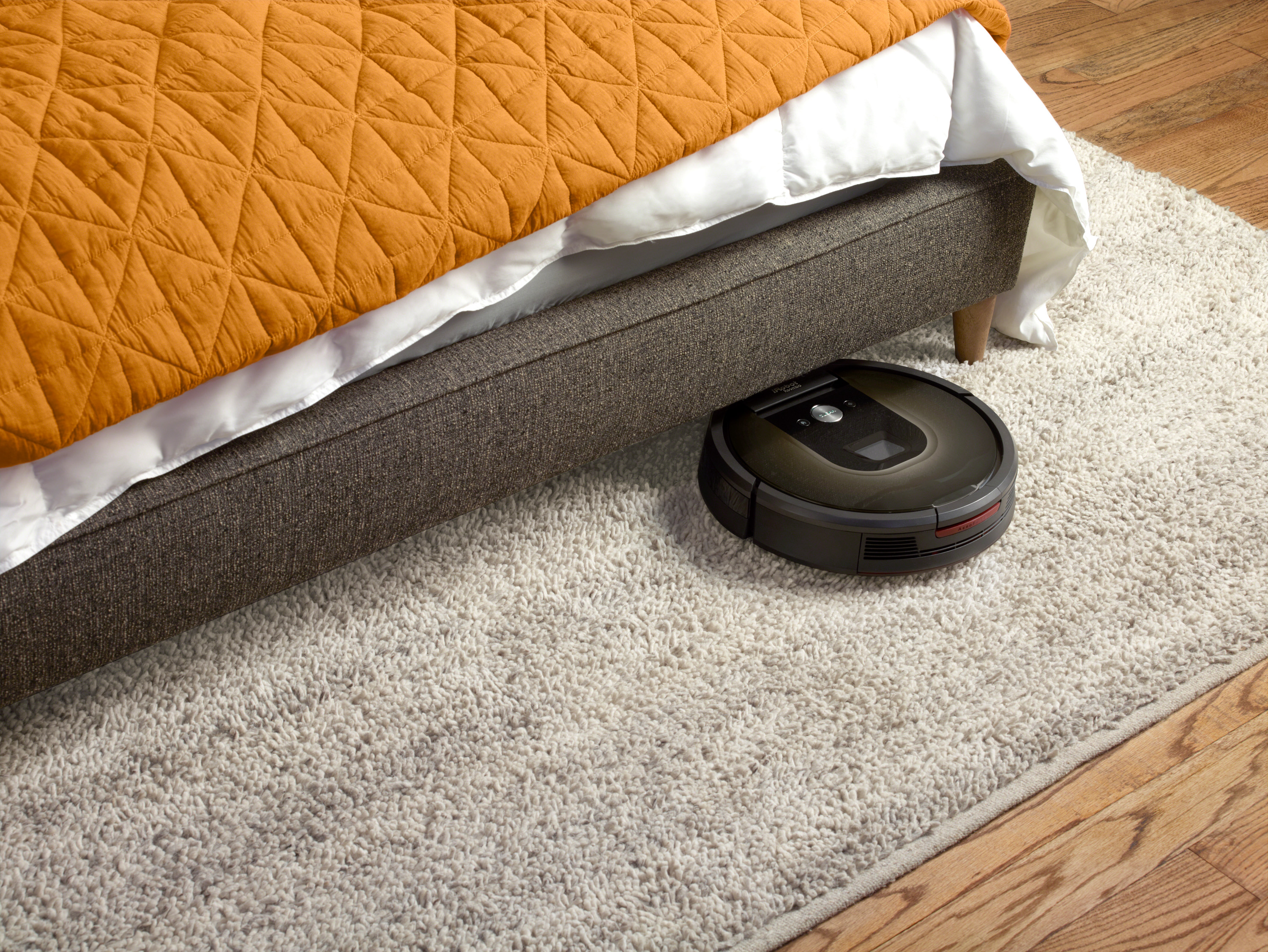 ... test Roomba de iRobot