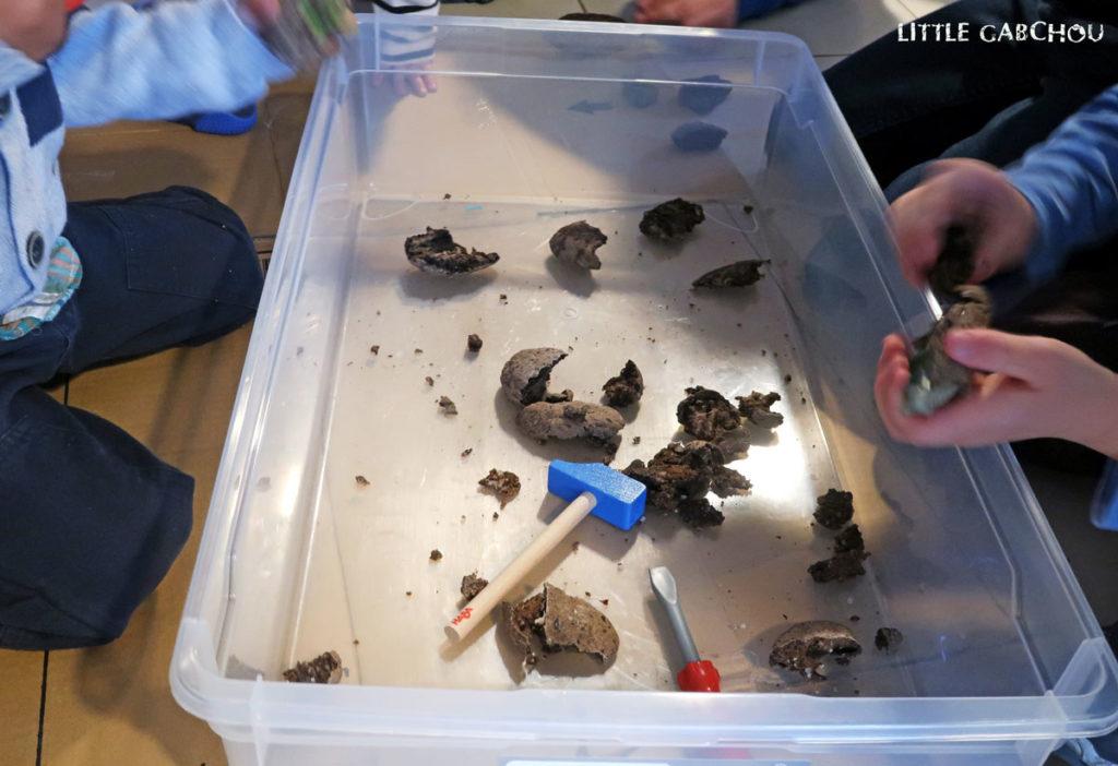 activités pour enfants pour anniversaire dinosaures