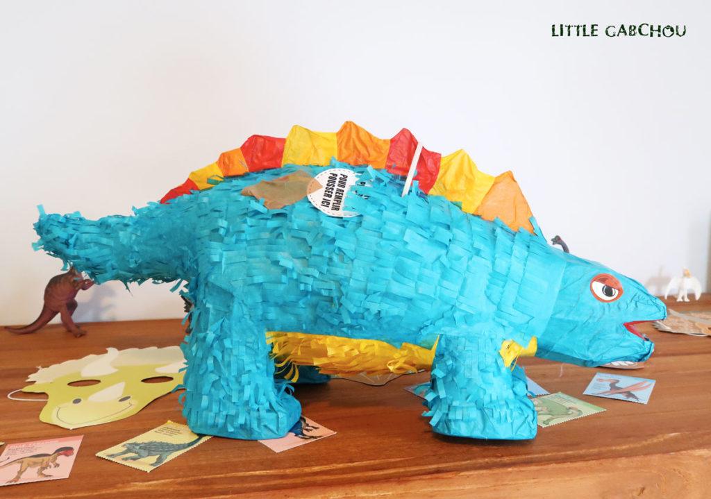 activités pour anniversaire d'enfants sur le thème des dinosaures