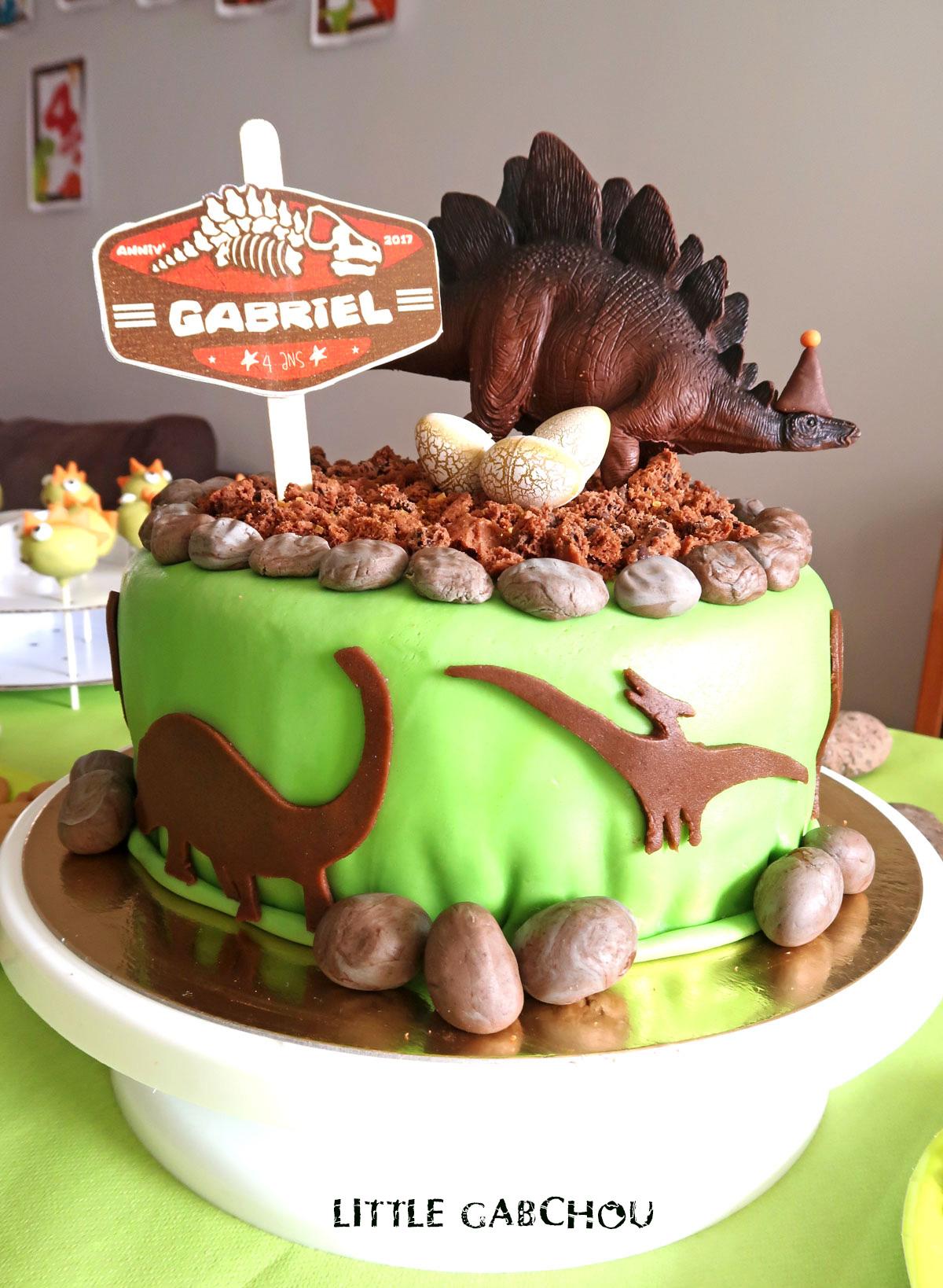 recette pour gâteau dinosaures