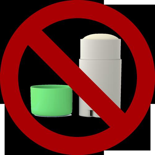 déodorants industriels dangereux