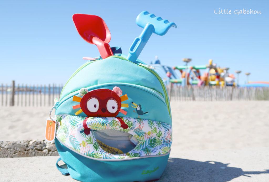 sac à dos maternelle pour petits enfants de Llilliputiens