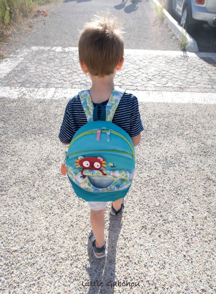 notre avis sur le sac à dos pour l'école maternelle de Lilliputiens