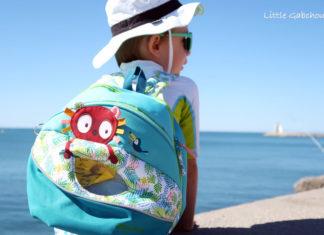 Georges le Lémurien de Lilliputiens le parfait sac à dos pour l'école maternelle et les vacances.