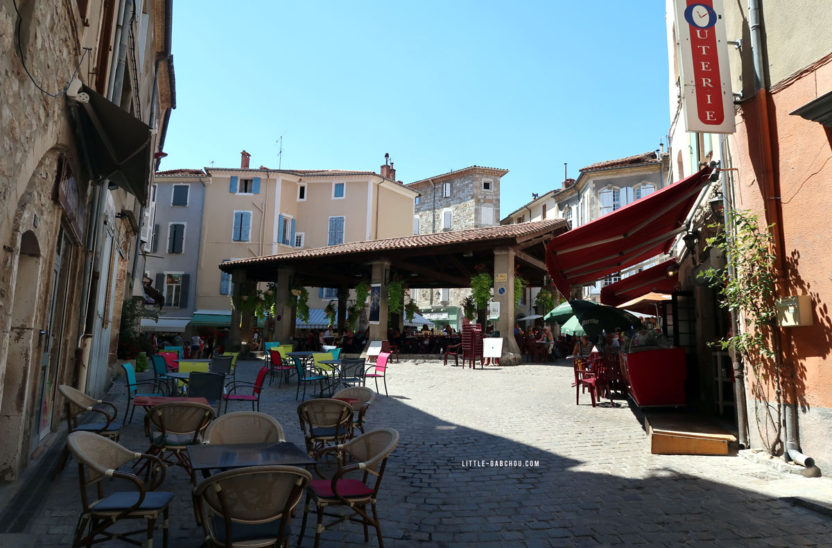 centre ville historique d'Anduze
