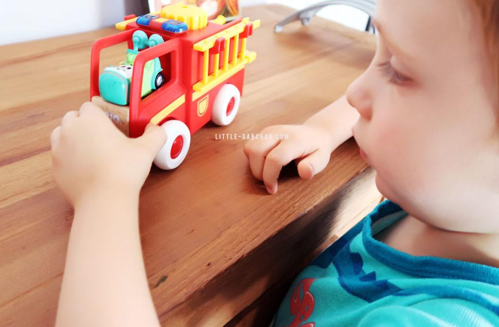camion de pompiers Brio test et avis
