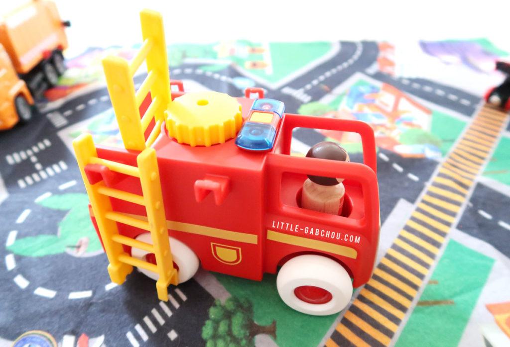 idée cadeau enfants camion de pompiers Brio