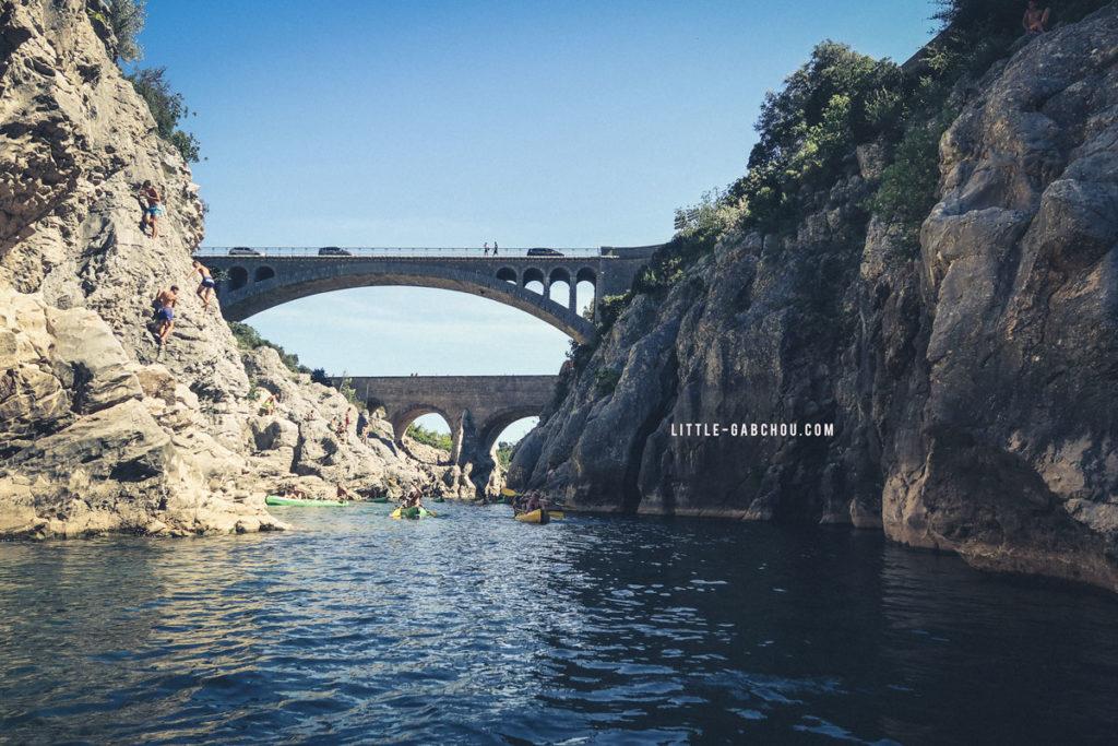 pont du diable sortie dans la région de montpellier