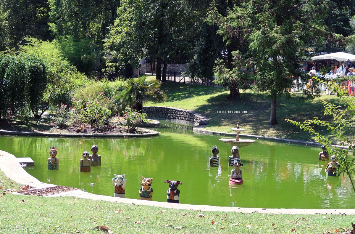 parc des Cordeliers à Anduze