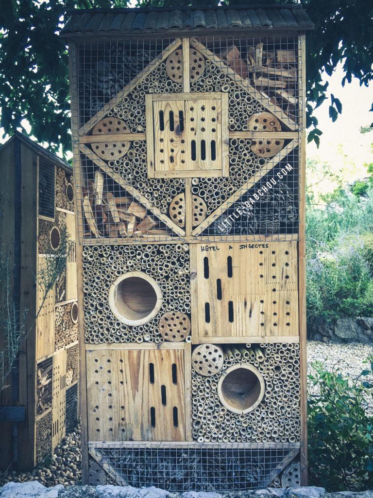 hôtel des insectes
