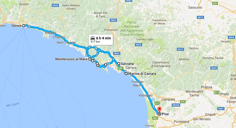 road trip en Italie du Nord avec des enfants