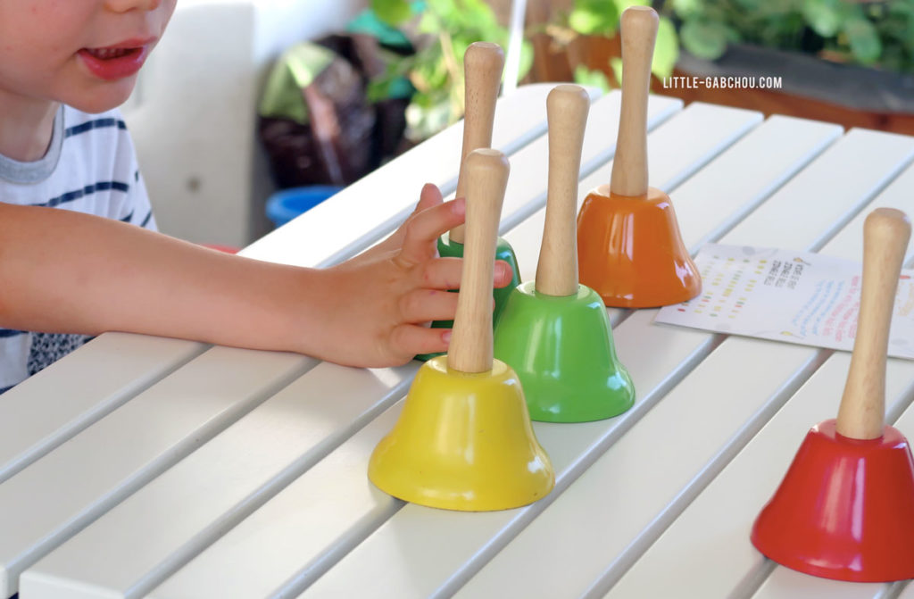 cloches musicales montessori
