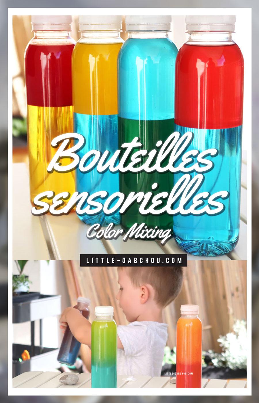 apprendre les couleurs avec les bouteilles sensorielles. Black Bedroom Furniture Sets. Home Design Ideas