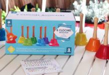 Eveil musical Montessori avec les cloches Nature et Découverte