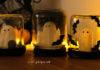 DIY décoration d'Halloween en pots de verre upcyclés