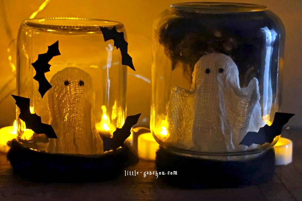 DIY effrayant pour Halloween à faire avec les enfants