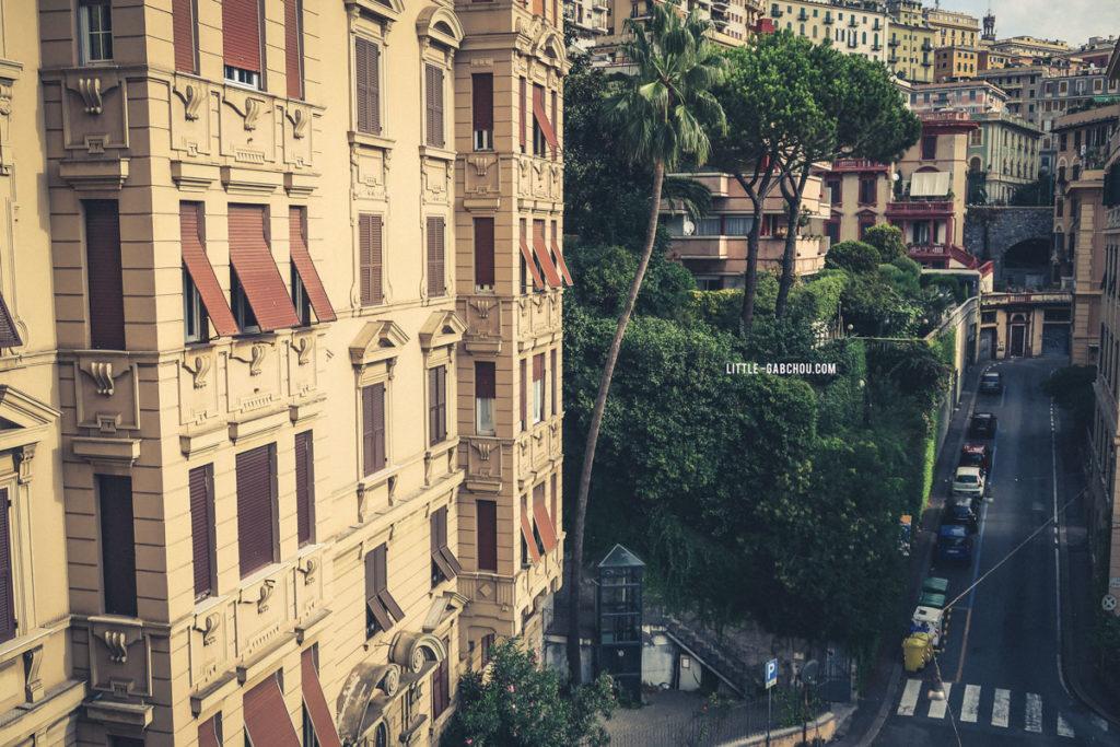 les hauteurs de Gênes à explorer