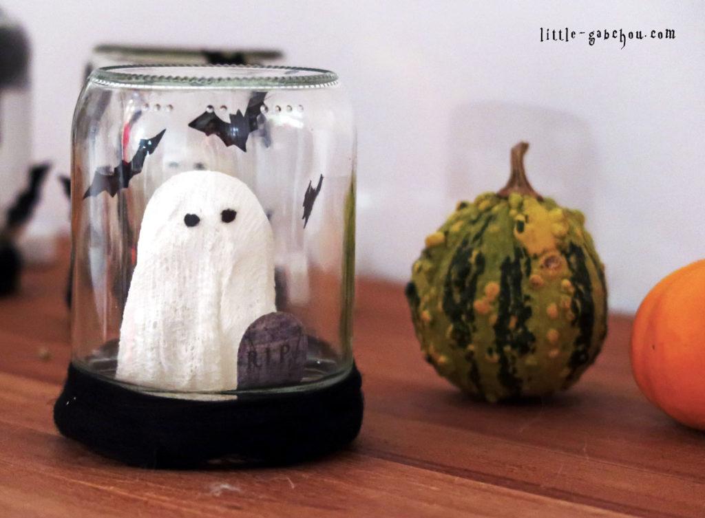 DIY Halloween les bocaux d'Halloween