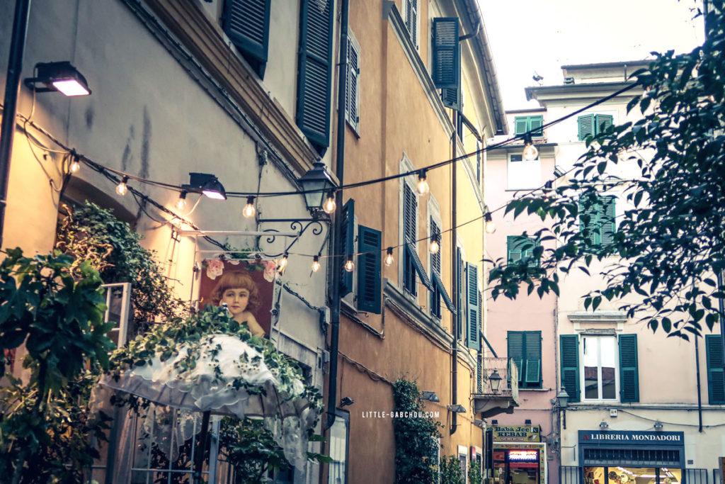 streets of sarzana italy