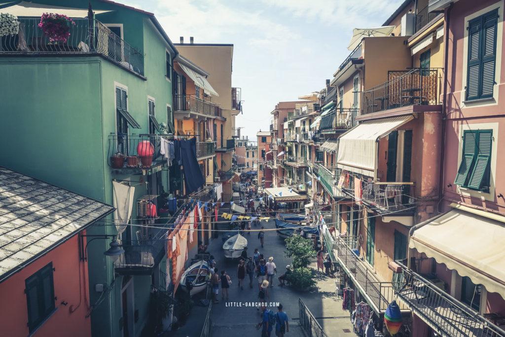 les rues de manarola