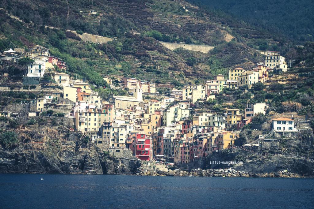 paysages des cinq terres Riomaggiore