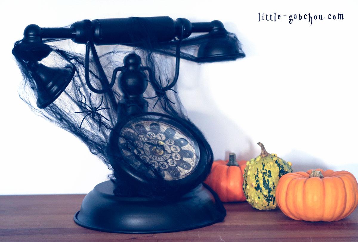 décoration d'halloween simple