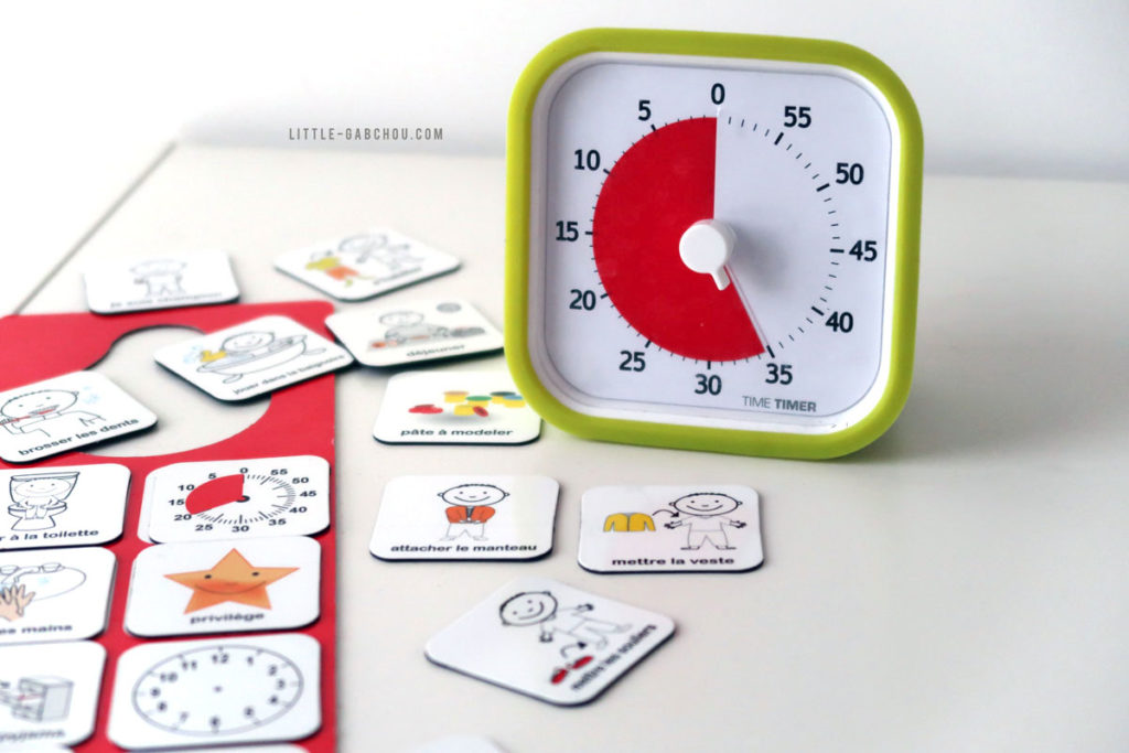 apprendre la notion du temps avec le Time Timer