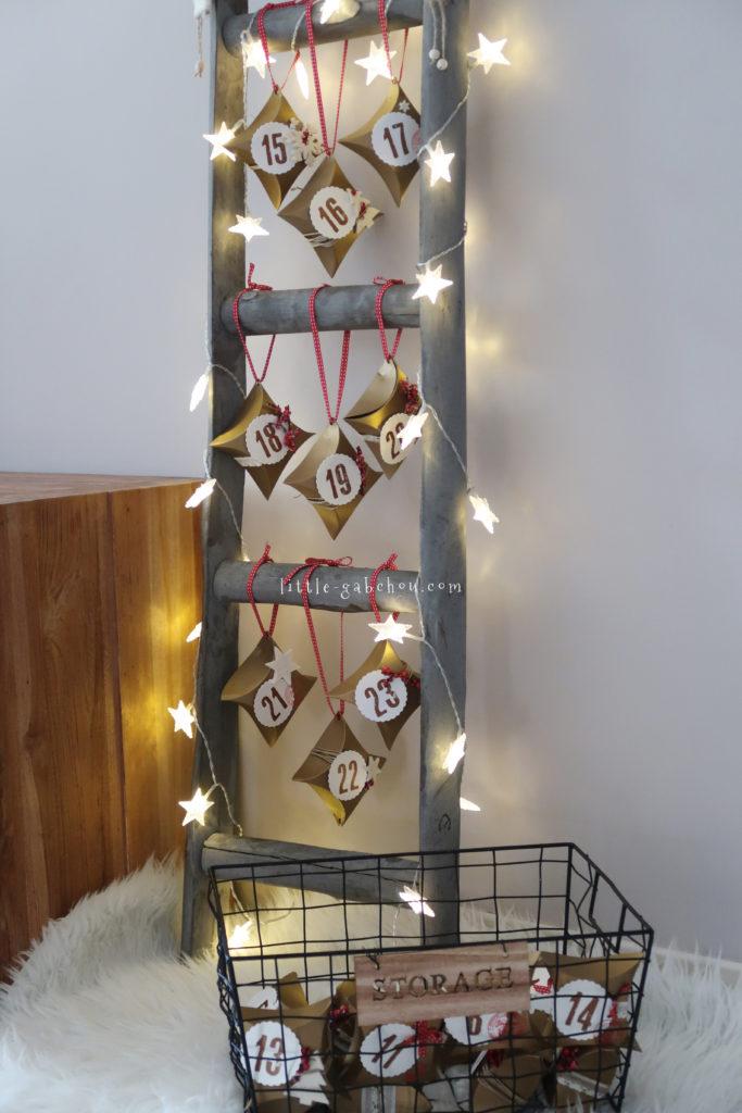 DIY calendrier de l'avent original selpackaging
