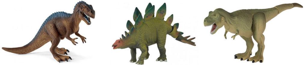 Figurines dinosaures