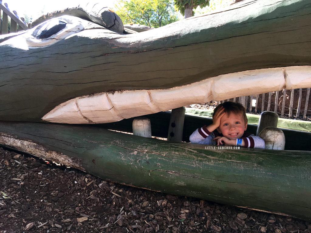 ferme aux crocodiles parc extérieur