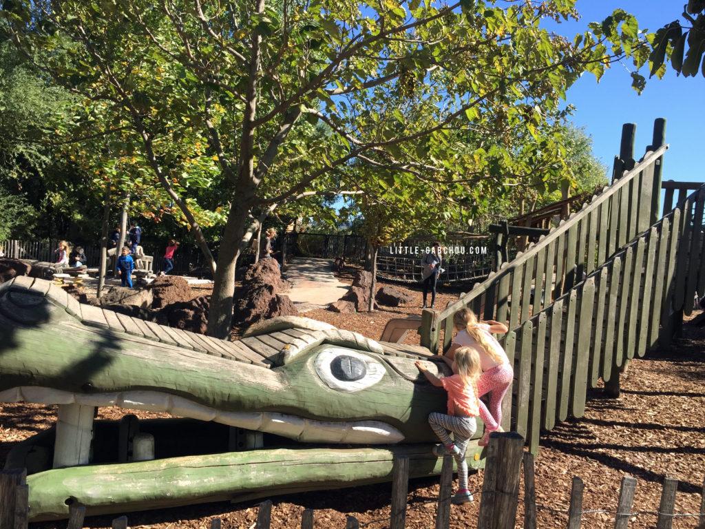 aires de jeux ferme aux crocodiles