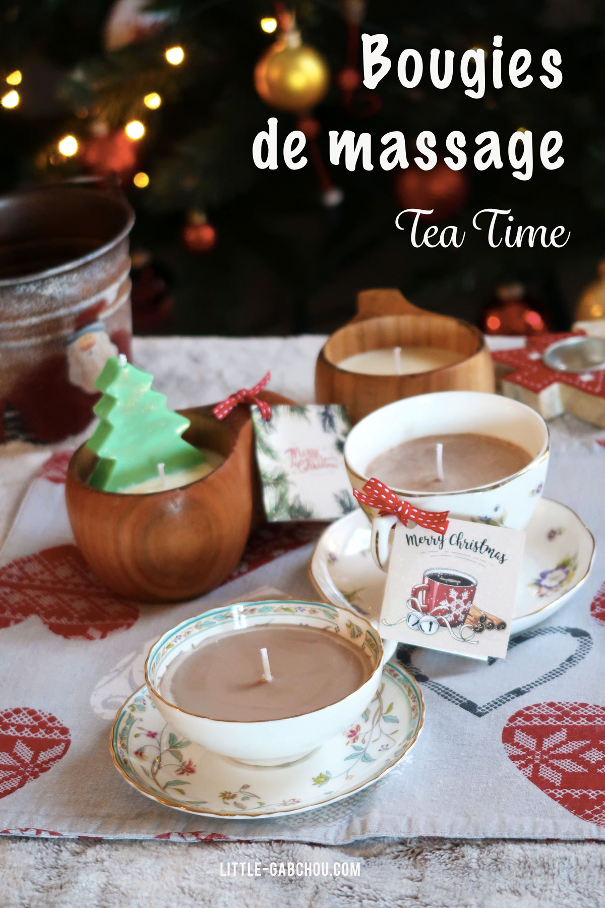 tuto id e cadeau la bougie de massage tea time. Black Bedroom Furniture Sets. Home Design Ideas