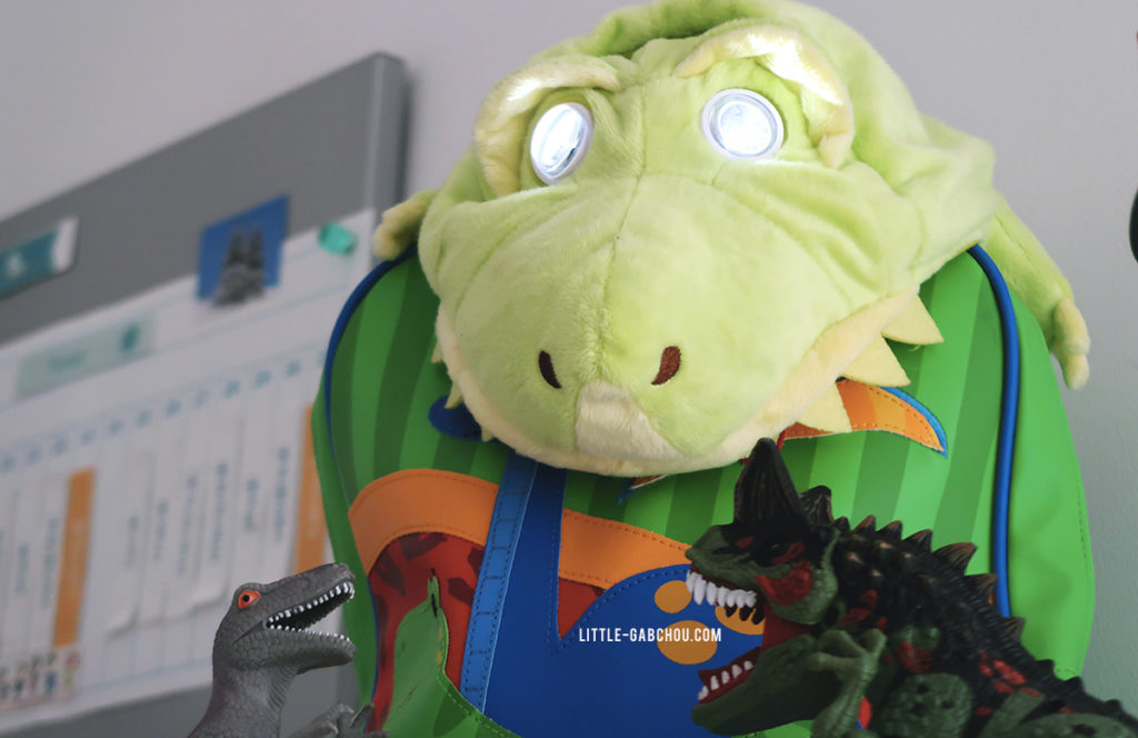 Flash mask de Jemini dinosaure