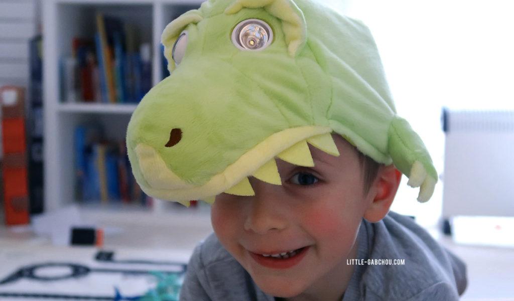 Flash mask T-Rex pour un déguisement dinosaure