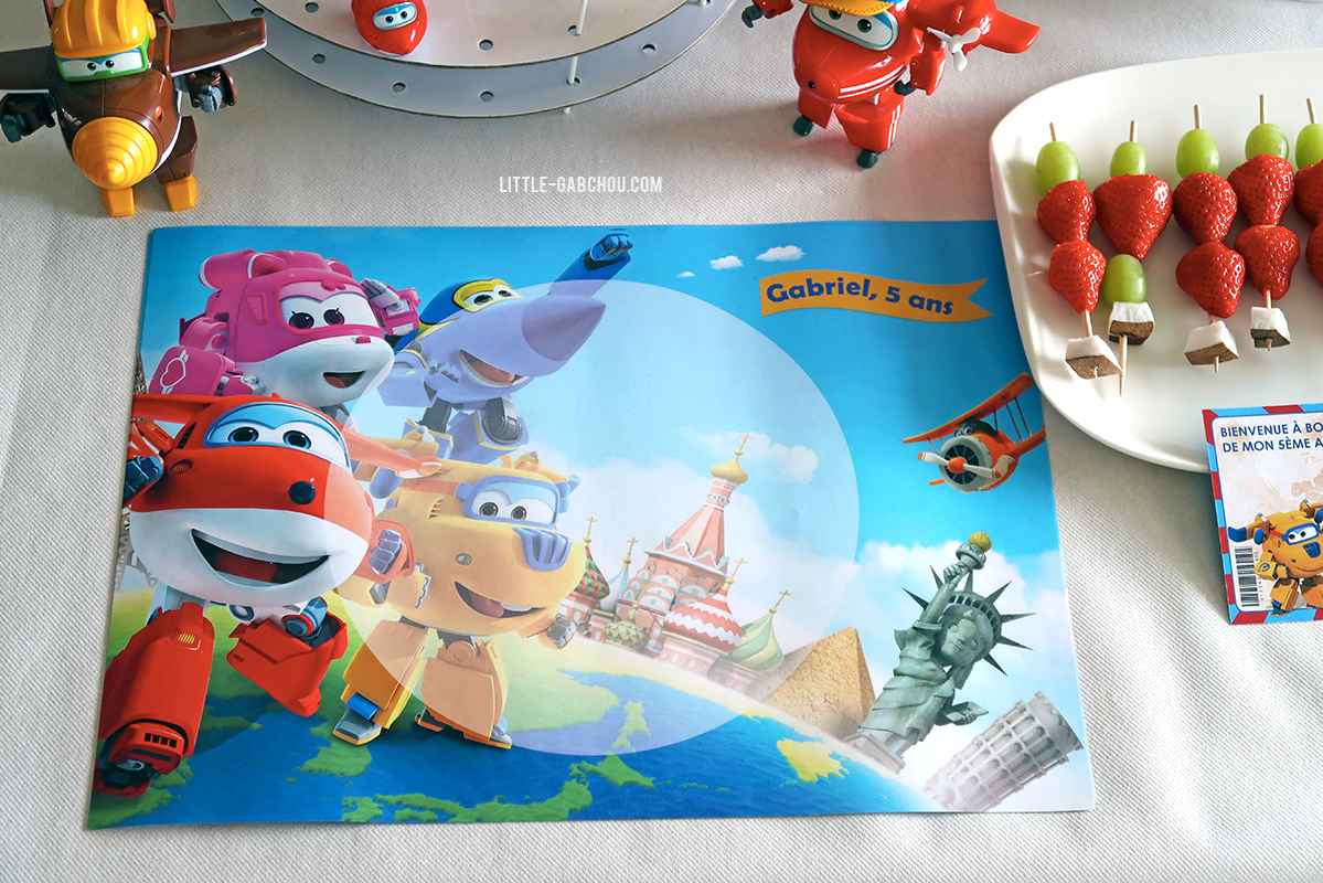 Decoration Anniversaire Garcon Super Wings