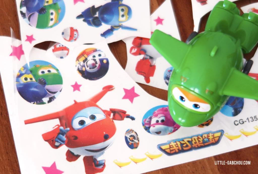 atelier tatouage animation pour anniversaire d'enfant